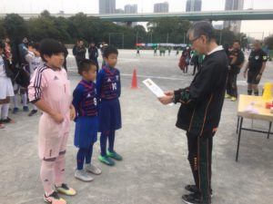第5回三井のリハウス 東京都U-12 サッカー8ブロックリーグ 前期リーグ